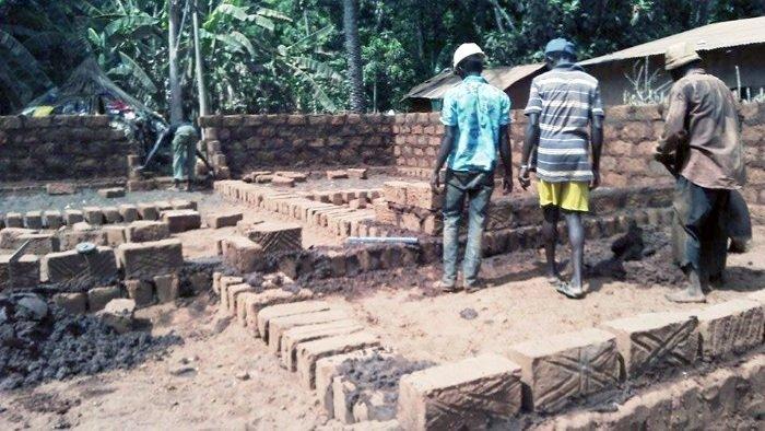 Reconstruction de la maison Maïmouna