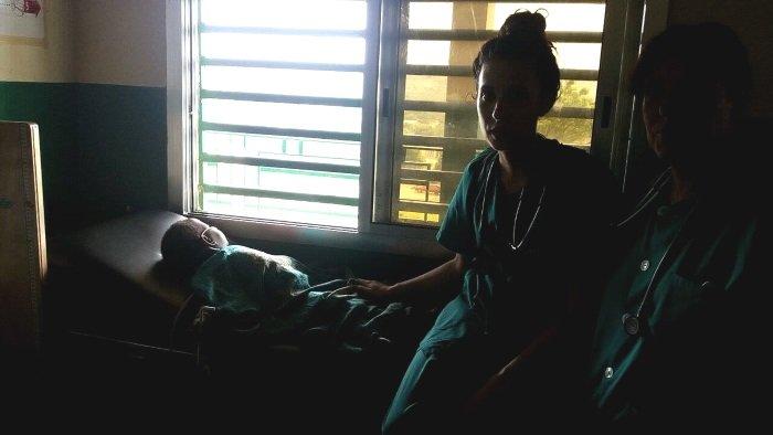 Visite médicale à Diassiya